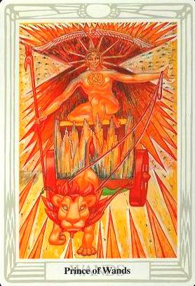 Książę Buław - Thoth Tarot