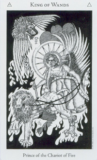 Król Buław - The Hermetic Tarot