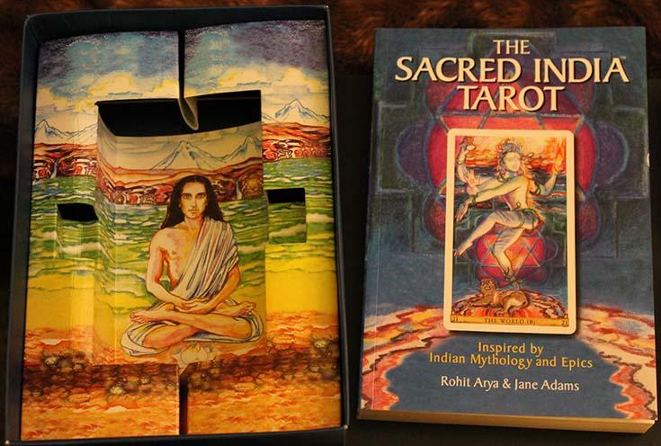 Książka Sacred India Tarot